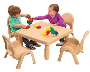 Angeles Toddler MyValue Set 4 Square - Natural Tan - The Creativity Institute