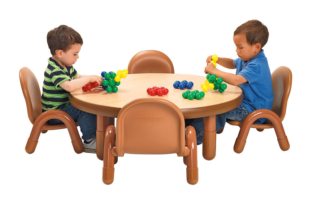 "BaseLine Toddler 36"" Dia. Round Table & Chair Set - The Creativity Institute"
