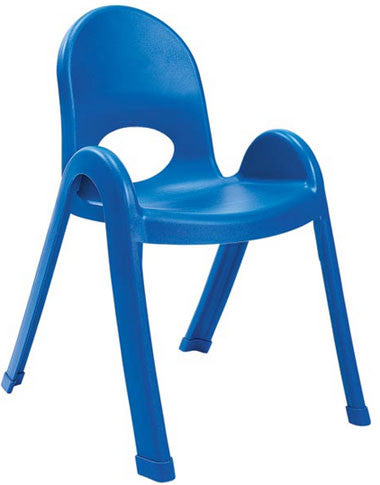 "Angeles AB7713PB Value Stack 13"" Chair - Blue"