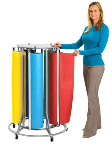 Angeles AEL7600 5-Roll Paper Rack - The Creativity Institute