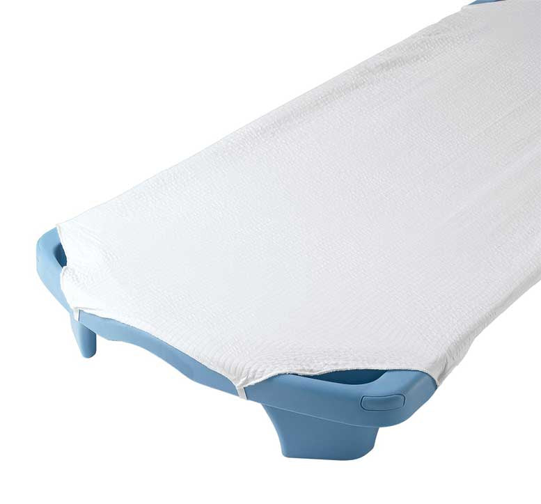 Angeles AFB5700SW Angels Rest White Cot Sheet - Standard Size