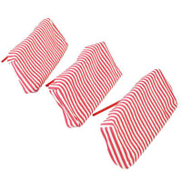 Angeles AFB65003P Bye Bye Buggy Red Striped Canopy - Set of 3