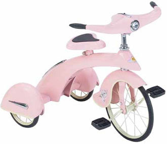 Airflow Collectibles TSK007 Pink Princess Junior Trike Replica Tricycle