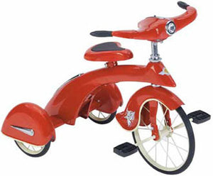 Airflow Collectibles TSK005 Red Sky King Junior Trike Replica Tricycle