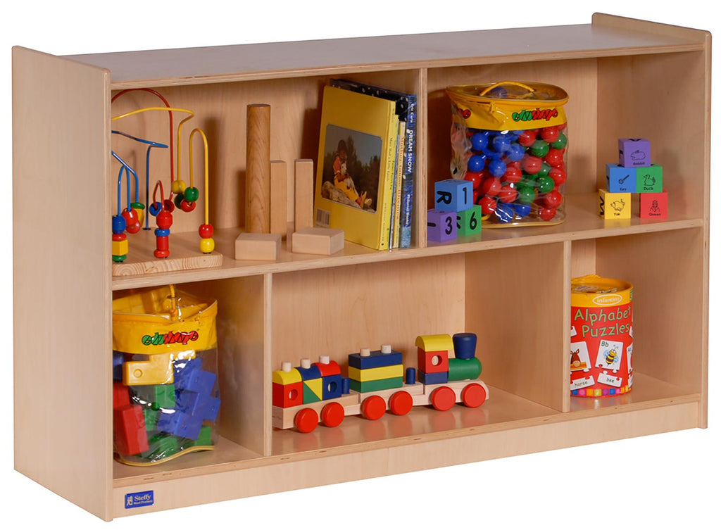 "Angeles ANG1007 30""H Single Toy & Block Mobile Storage"