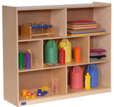 "Angeles ANG1009 36"" Single 3-Shelf Mobile Storage"