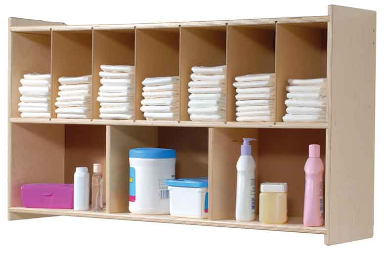 Angeles Diaper Wall Shelf ANG1106 - The Creativity Institute