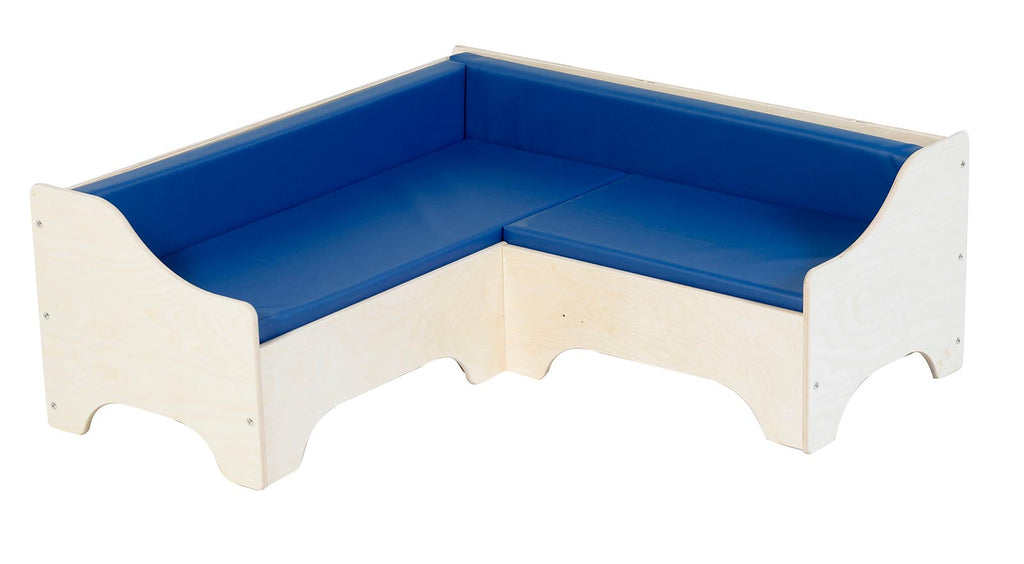 Angeles ANG1185B Corner Sofa - Blue