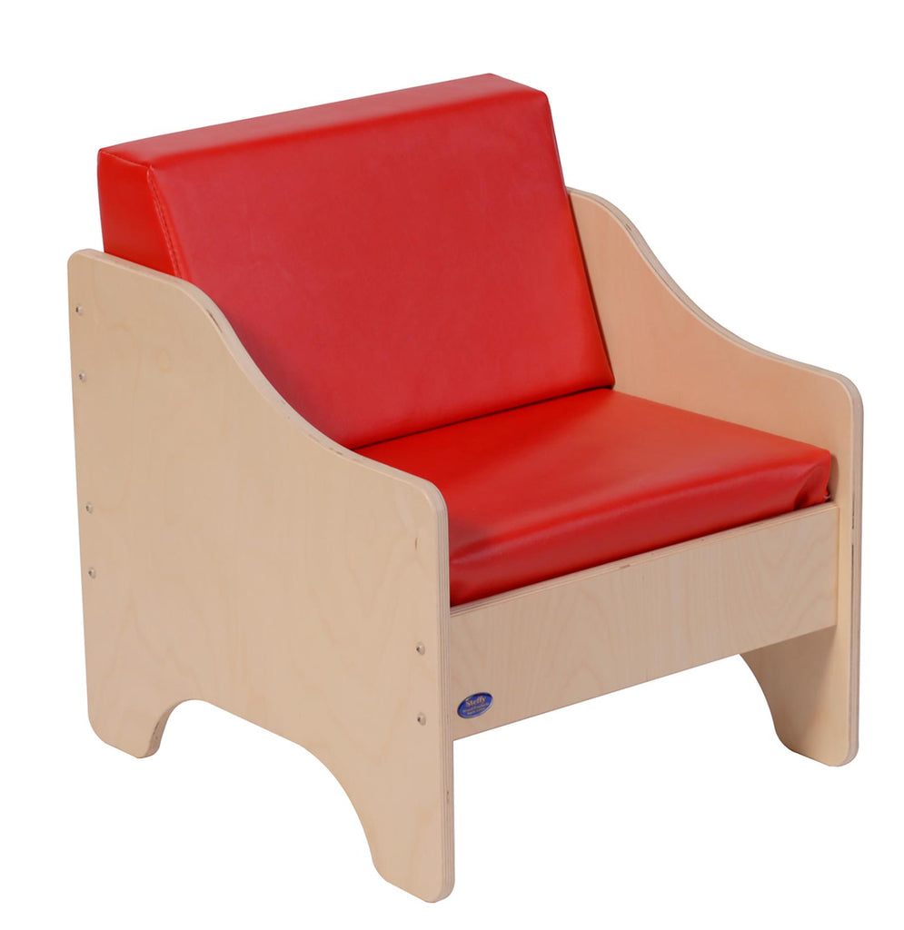 Angeles ANG1186 Chair - Red - The Creativity Institute