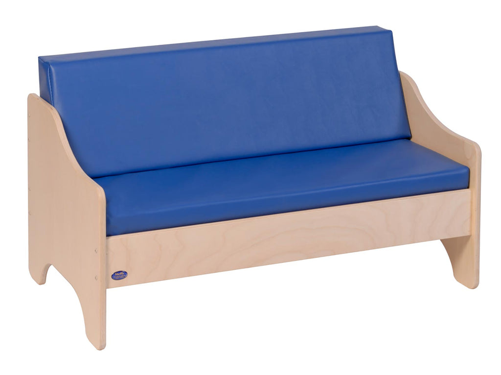 Angeles ANG1187 Sofa - Blue - The Creativity Institute