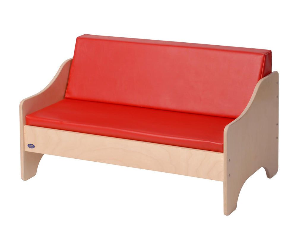 Angeles ANG1187 Sofa - Red - The Creativity Institute