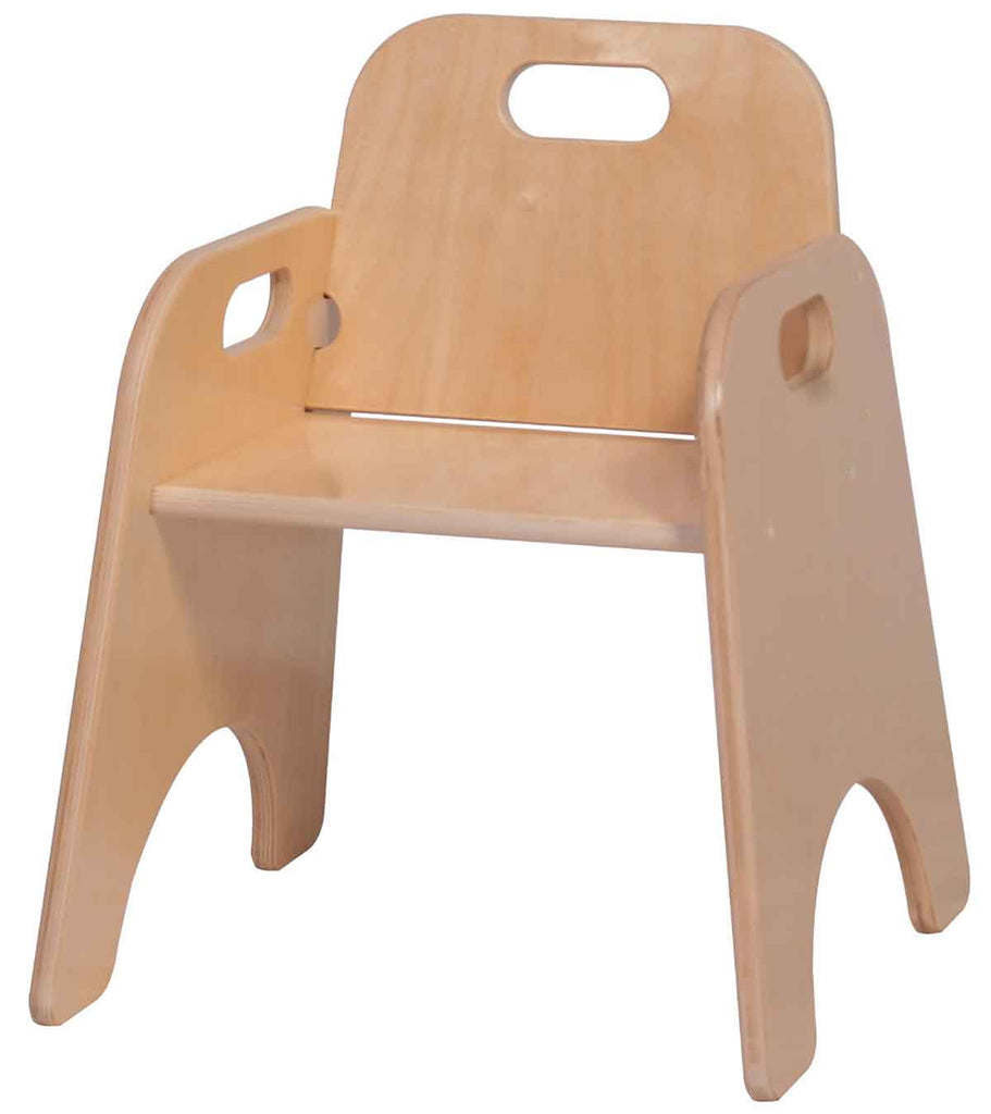 "Angeles Wooden 11"" Toddler Chair ANG1363"