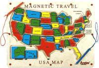 Anatex Magnetic Travel USA Map Magnetic Toy - UM2007