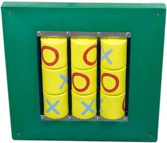 Anatex BZC1051 Busy Cube Tic-Tac-Toe Wall Panel