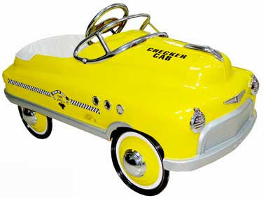Airflow AF116 Yellow Taxi Comet Car