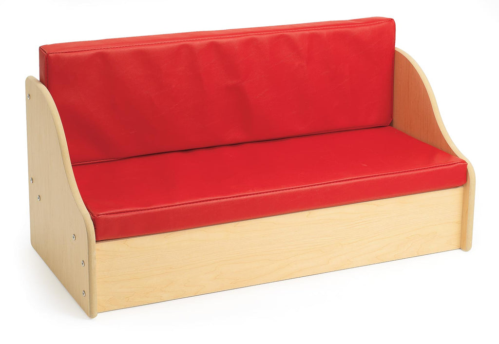 Angeles ANG7180 Value Line Sofa - Red - The Creativity Institute