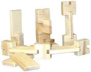 Beka 06018 Interlocking Little Builder Block Set 18-Piece