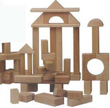 Beka 06036 Wooden Unit Blocks Standard Set - 36 Pieces