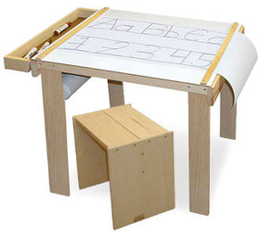 Beka Wooden Art Table Desk and Stool