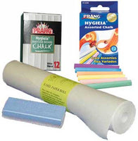 Beka Easel Companion - Paper Roll, Chalk and Eraser