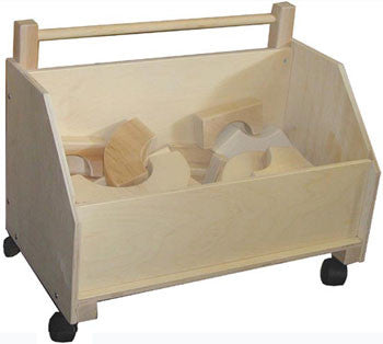 Beka 06201 Toy Chest on Wheels - The Creativity Institute