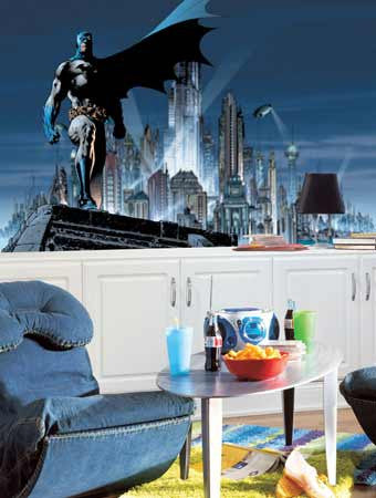 RoomMates Batman XL Wall Mural 6' x 10.5' - JL1066M