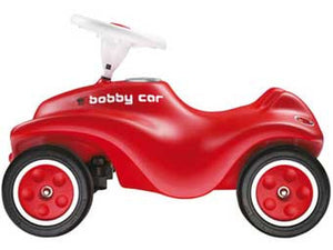 Big Bobby Push Car Red