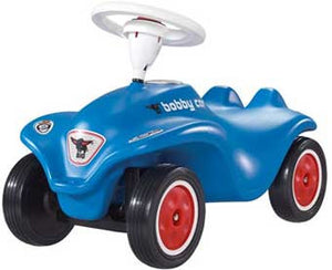 Big Bobby Push Car Blue