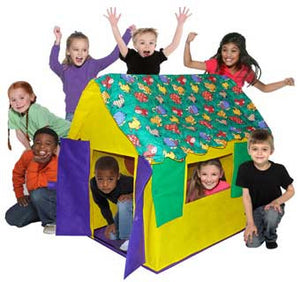 Bazoongi Kids Stuffed Animal House Kids Cottage Play Tent - KC-SAC