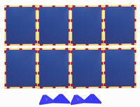 Children's Factory CF900-526B Big Screens Super Set of 8 PlayPanels-Blue