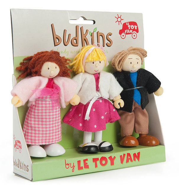 Le Toy Van Budkins Family Gift Doll Set - BK914