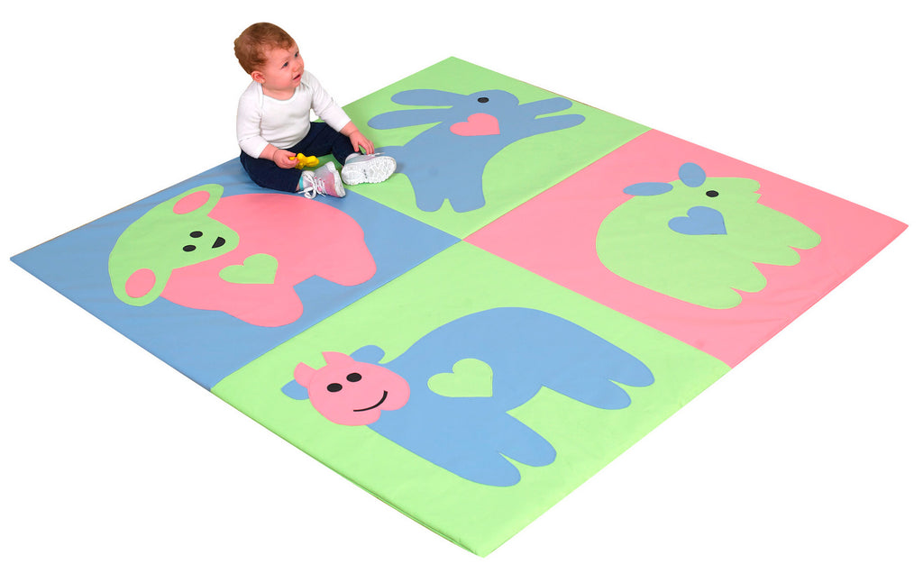 Children's Factory CF322-045P Pastel Baby Love Activity Mat