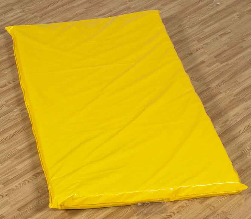 Children's Factory CF350-023 Rainbow Rest Mat - One Yellow Mat