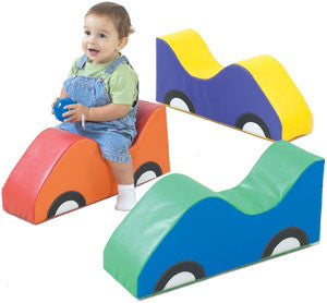 Children's Factory CF331-019 Mini Car Soft Rider Set of 3