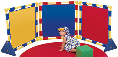 Children's Factory 3 Square Play Panel (PlayPanel) Set - CF900-507 - The Creativity Institute