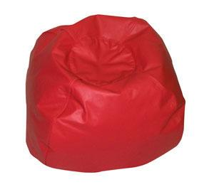 Children's Factory CF610-007 35 Dia. Red Bean Bag Chair