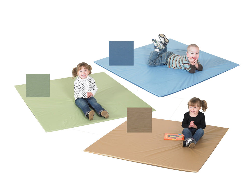 Children's Factory CF705-380 Set of 3 Cozy Woodland Two-Tone Activity Mats