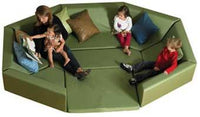 Children's Factory CF710-123 Octagonal Welcoming Hollow - Dark Green - The Creativity Institute