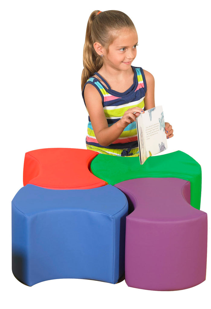Children's Factory CF805-027 Bowtie Seating - Set of 4