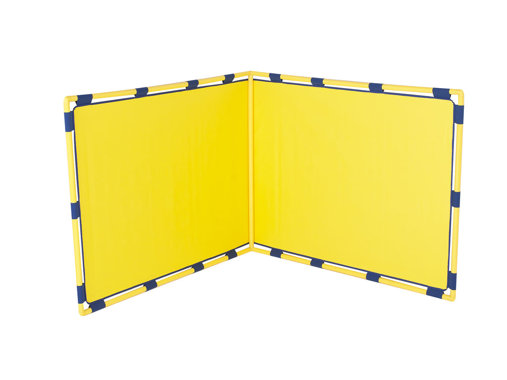 Children's Factory CF900-533Y Right Angle Corner Big Screens Play Panel-YELLOW