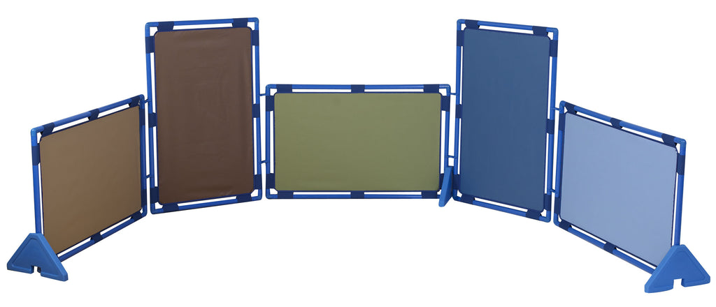 Children's Factory CF900-921 Cozy Woodland set of 5 Rectangle Play Panels (PlayPanels)