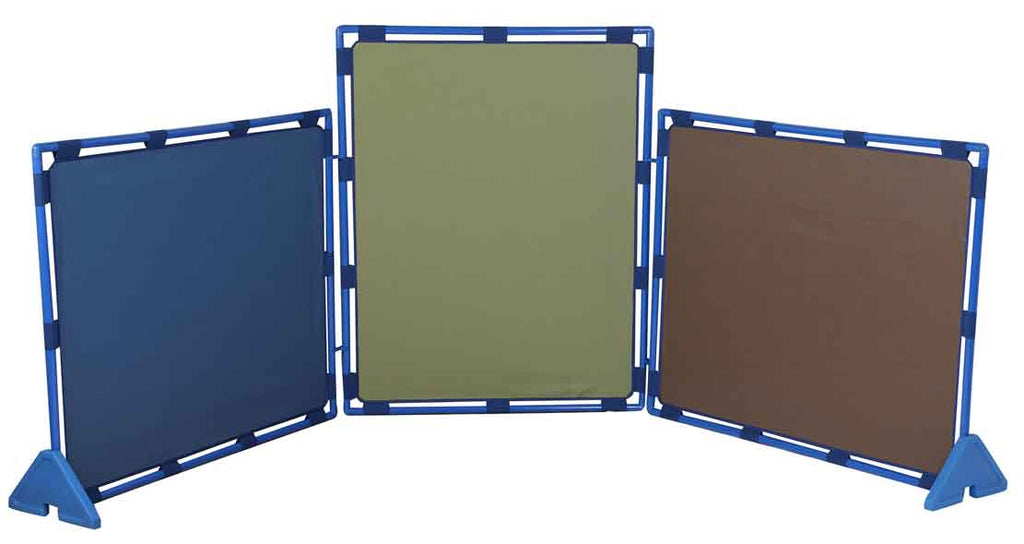 Children's Factory CF900-929 Cozy Woodland Set of 3 Big Screen Play Panels (PlayPanels) - The Creativity Institute