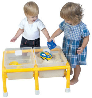 Children's Factory CF905-134 Mini  Double Discovery Table