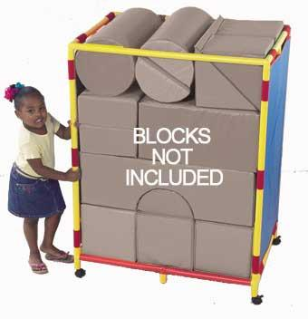 Children's Factory CF905-137 Trolley for Soft Big Block Set A - Trolly - The Creativity Institute