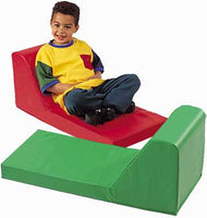 Children's Factory CF349-008 Green Preschool Lounger