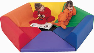 Children's Factory CF321-910 Hexagon Happening Hollow