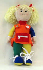 Children's Factory CF100-856 Learn to Dress Dolls - White Girl - The Creativity Institute