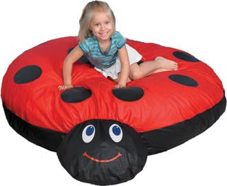 Children's Factory CF650-518 Mama Ladybug Cuddle-Up Pillow - The Creativity Institute