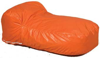 Children's Factory CF650-525 Pod Pillow in Orange