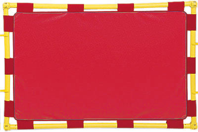 Children's Factory CF900-101R Rectangle Play Panel (PlayPanel) - RED - The Creativity Institute